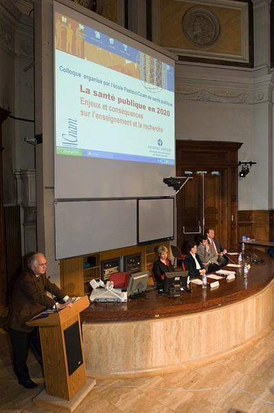 Colloque Pasteur/Cnam La santé publique en 2020