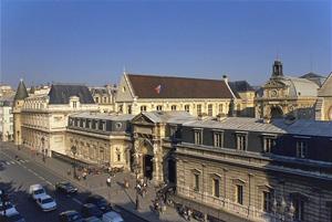 La façade du Cnam rue Saint-Martin